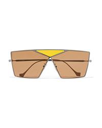 Loewe Puzzle Large Aviator Style Gunmetal Tone Sunglasses