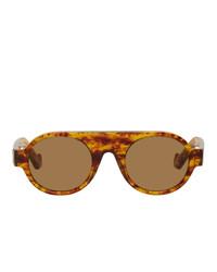 Loewe Round Aviator Sunglasses