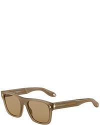 Square acetate sunglasses medium 700032