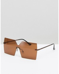 Asos Square Visor Sunglasses