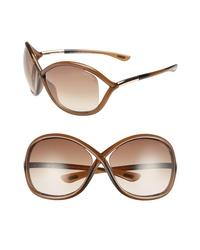 Tom Ford Whitney 64mm Open Side Sunglasses