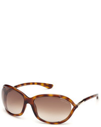 Tom Ford Whitney Crisscross Round Sunglasses