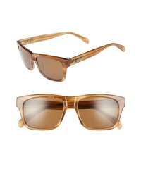 Brightside Wilshire 55mm Square Sunglasses