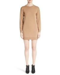 Burberry Alewater Elbow Patch Merino Wool Dress
