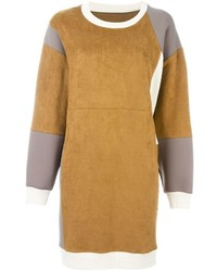 MM6 MAISON MARGIELA Panelled Sweatshirt Dress