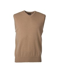 Great and British Knitwear Great British Knitwear Hk600 100% Lambswool Plain V Neck Sweater Vest