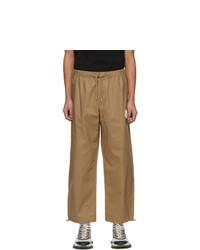 Moncler Khaki Cotton Lounge Pants