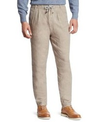 Brunello Cucinelli Pleated Leisure Fit Trousers