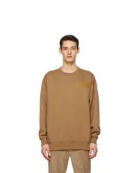 Acne Studios Tan Dizonord Edition Oversized Sweatshirt