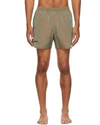 True Tribe Beige Wild Steve Swim Shorts