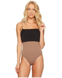 Mara Hoffman Color Block Combo One Piece Swimsuits One Piece