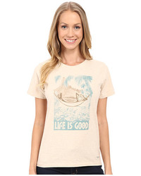 Life is Good Watercolor Lig Hammock Crushertm Tee