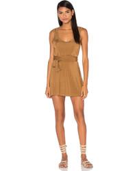 Tan Tank Dress
