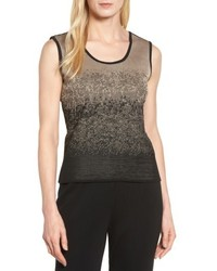 Ming Wang Reversible Scoop Neck Tank