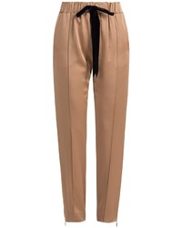 Tan tapered pants original 10578230