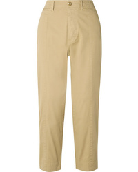 Alex Mill Cotton Blend Twill Tapered Pants
