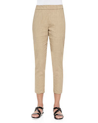 Theory Korene Pull On Tapered Pants