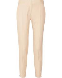 Vivian wool twill tapered pants sand medium 6860638