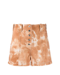 3.1 Phillip Lim Cognac Shorts