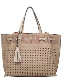 Patchington Perforated Tote With Pouch