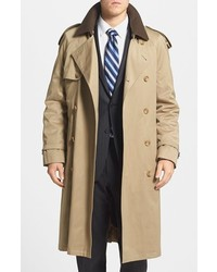 Barrington classic fit cotton blend trench coat medium 238224