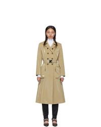 Fendi Beige Forever Trench Coat