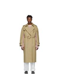 Maison Margiela Beige Military Coat