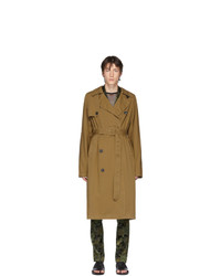 Dries Van Noten Beige Rennie Trench Coat