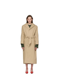 Kwaidan Editions Beige Structural Trench Coat