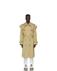 Juun.J Beige Trench Coat