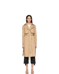 Stella McCartney Beige Twill Trench Coat