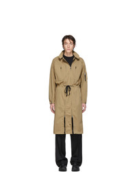 Random Identities Beige Versatile Dress Coat