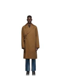 Undercover Beige Wraparound Trench Coat
