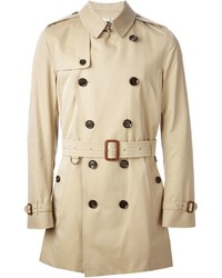Belted trench coat medium 372516