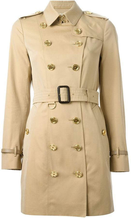 9ca5ba7f5100c Burberry London Belted Trench Coat, $1,938   farfetch.com ...