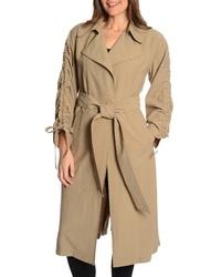 Rachel Rachel Roy Cinched Sleeve Trench Coat