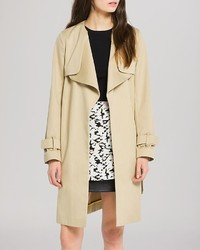 Sandro Coat Malena Belted Trench