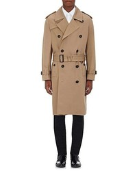Burberry Cotton Double Breasted Trench Coat