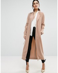 Asos Crepe Duster Trench