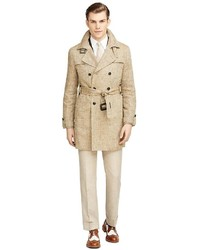 Brooks Brothers Double Breasted Trench Coat