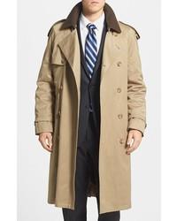 Hart Schaffner Marx Barrington Cotton Blend Trench Coat