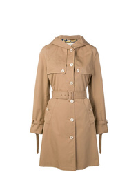 Gucci Hooded Trench Coat