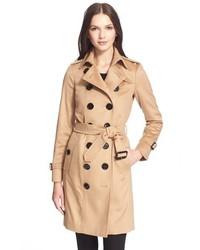 London sandringham long slim cashmere trench coat medium 342112
