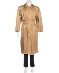 Brioni Longline Belted Coat