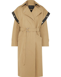 Givenchy Med Cotton And Trench Coat