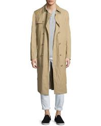Michael Kors Michl Kors Inox Lightweight Trench Coat Khaki