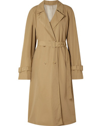 The Row Nueta Oversized Wool Blend Trench Coat