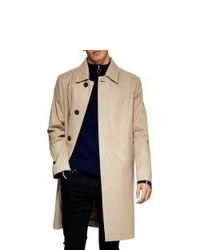 Topman Single Breasted Trench Coat