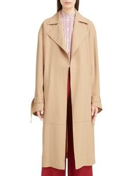 Victoria Beckham Split Sleeve Trench Coat