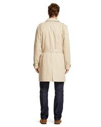 Merona Trench Coat Vintage Khaki Tm